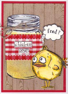 Tim Holtz - Crazy Birds : Where's Fred ?                                                                                                                                                      More