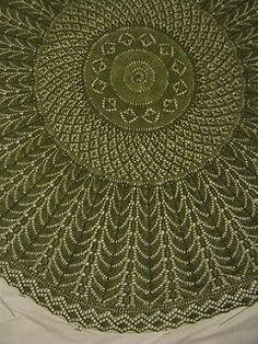 Level of difficulty: Intermediate. Some prior lace knitting experience is helpful.