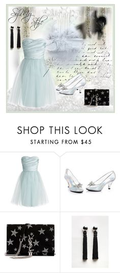 """""""My style Elsa"""" by seymey ❤ liked on Polyvore featuring ML Monique Lhuillier, Yves Saint Laurent and Sophie Buhai"""
