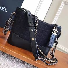 f6257d708a8c Chanel Embroidered Wool Calfskin Gabrielle Medium Hobo Bag A91824 ...