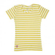 stripedshirt in Austin, TX has comfortable and cute shirts! Yellow Stripes, Striped Shorts, I Love Fashion, Cute Shirts, Baby Kids, Design Inspiration, How To Wear, Austin Tx, Color