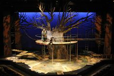 Young Robinhood. Rund House Theatre. Scenic design by Misha Kachman