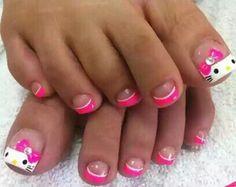 15 Mejores Imágenes De Pedicure Niñas Cute Nails Nails For Kids Y