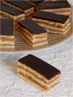 Hungarian Recipes, Cake Cookies, Soul Food, Tiramisu, Caramel, Bakery, Goodies, Food And Drink, Sweets