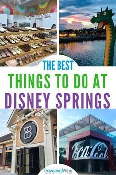Best Things To Do In Disney Springs No park tickets? No problem! There is plenty to do outside the Disney Parks. In fact, check out this list of the 10 best things to do in Disney Springs for families, and plan your trip today! Disney World Resorts, Disney World Tipps, Disney World Florida, Disney World Parks, Disney World Tips And Tricks, Disney Vacations, Disney Trips, Disney Travel, Family Vacations