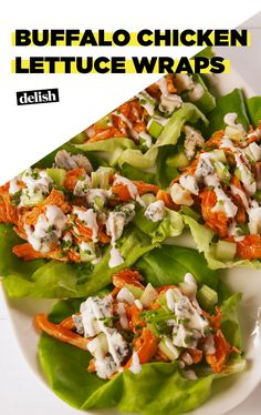 You Don't Want Wings — You Want Buffalo Chicken Lettuce WrapsDelish