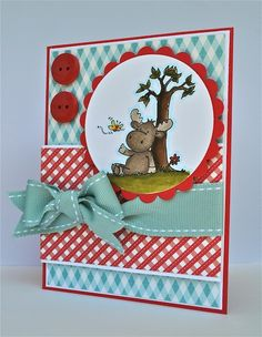 My little Moose by cajojus - Cards and Paper Crafts at Splitcoaststampers