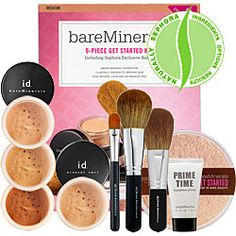 Bare Minerals. All natural mineral based. The only make-up products in my Must Have favorites!
