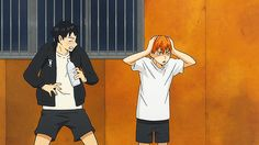 aki00113: HINATA IMITATING KAGEYAMA (´∀`)♡ THESE TWO SHOULD HURRY UP AND GET MARRIED ALREADY.
