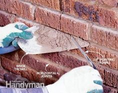 home repairs,home maintenance,home remodeling,home renovation Mortar Repair, Brick Repair, Home Improvement Projects, Home Projects, Home Renovation, Home Remodeling, Home Fix, Diy Casa, Diy Home Repair