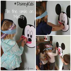 #DisneyKids Pin the smile on Mickey