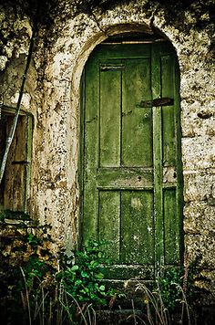 Well aged door.  Giuseppe Lusco