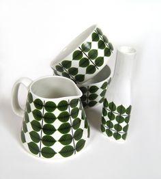 Stig Lindberg, Gustavsberg, Tableware - Domino Antik