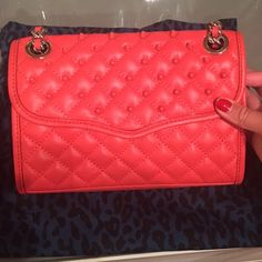 Rebecca Minkoff Mini Affair with Studs Worn twice , very nice color . Come with dust bag Rebecca Minkoff Bags Crossbody Bags