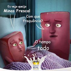 """É tanto amor por queijo minas frescal! <3 #RomeueJulieta"""