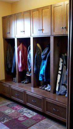 Mudroom Lockers - traditional - closet - minneapolis - Jeff Widseth