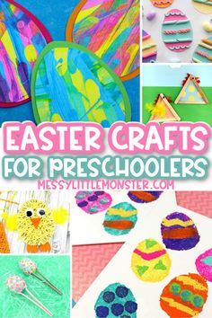 Fun Easter crafts for preschoolers | Easter Crafts for Kids