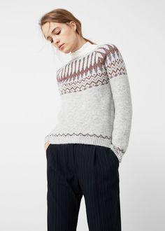 Джемпер с металлизированной нитью - Кардиганы и свитеры - Женская | OUTLET Россия (Российская Федерация)