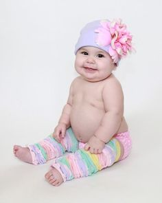 I can't stand it!!!!  Too chubby and squeezable!!!!!      Purple Peony Hat-hat, purple, pink,jamie rae, hats, pictures, girls, baby, shower, gift,