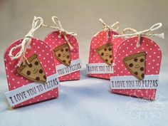 Chelsea's Creative Corner: I Love You to Pizza (or Chocolate???) .... Great New Stamps from A Muse Studio .. Punny Valentine.