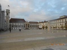 Vista da Universidade de Coimbra Coimbra University View