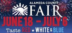 Alameda County Fair - June 18-July 6! Fireworks show this year included in admission fee!