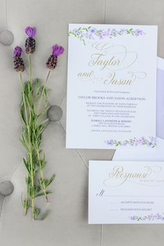 Wedding invitation - Kristen Borelli Photography - Belle The Magazine
