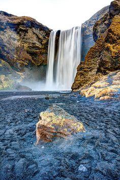 Skogafoss Waterfall, Iceland; photo by Craig Brown