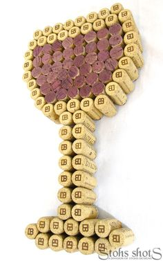 Another really cute idea for how to use old wine corks