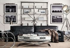 The Intentional Apartment: 26 Examples of a Masculine Home from the Pages of the Restoration Hardware Catalog   Primer