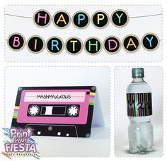 Print Your Fiesta editable digital party set by PrintYourFiesta