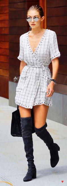 Gigi Hadid #Gigi_Hadid #Woman #Beauty