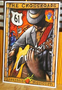 The Delta Blues Museum is dedicated to creating a welcoming place where visitors find meaning, value, and perspective by exploring the history and heritage of the unique American musical art form of the blues. Rock Poster, Blue Poster, Delta Art, Jazz Music, Music Pics, Reggae Music, Pop Music, Music Museum, Robert Johnson