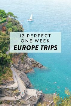 Planning a one week holiday in Europe? Here are 12 perfect trips you can take! Including France, England, Italy, Switzerland, and more.