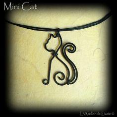 Mini Cat  © L'Atelier de Lizzie, tous droits réservés.