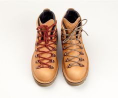 Tanner Goods, special edition of Danner's classic Mountain Light hiking boot