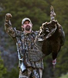 Winner Winner Turkey Dinner! Would love to hunt turkey's in Alaska, but..... :)