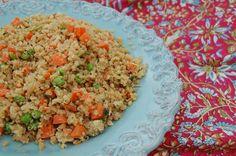 Quinoa vegetable stir fry
