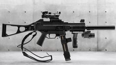 Zombie Apocalypse Weapons, Military Memes, Long Rifle, Submachine Gun, War Dogs, American Gods, Cool Guns, Assault Rifle, Fantasy Weapons