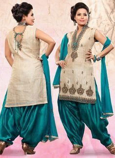 $59.84 Anushka sharma Band Baja Barat Patiala Suit 26676 ...