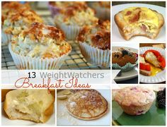 WeightWatchers Breakfast Ideas @ The Cards We Drew