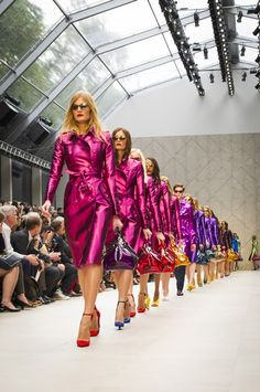 Burberry presents its Womenswear Spring Summer 2013 collection. A visual treat we say! http://www.luxuryfacts.com/index.php/sections/article/3483