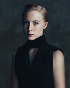 T WINTER LUXURY - T Magazine Saoirse Ronan photographed by Paolo Roversi