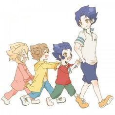 Sol Daystar, Arion, Victor y Vladimir Blade Inazuma Eleven Go Inazuma Eleven Axel, Victor Blade, Chibi, Evans, Litle Boy, Galaxy Movie, Kawaii, Anime Characters, Fictional Characters