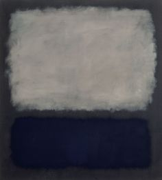 Blue and Gray (Mark Rothko,1962)