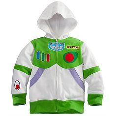 Zip Fleece Buzz Lightyear Hoodie for Boys