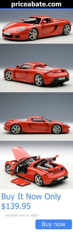 Toys And Games: Porsche Carrera Gt In Red 1:18 Scale Diecast Car Autoart 78044 BUY IT NOW ONLY: $139.95 #priceabateToysAndGames OR #priceabate