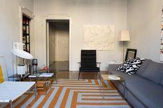 small modern space, interiors,modern