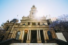Sydney Open 2014 outside Sydney Town Hall.  Photo © Haley Richardson for Sydney Living Museums.