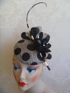 Gloria Pearl - Hat Design... Polka-Dot and a Hat!?!  What a perfect combination of fabulous!